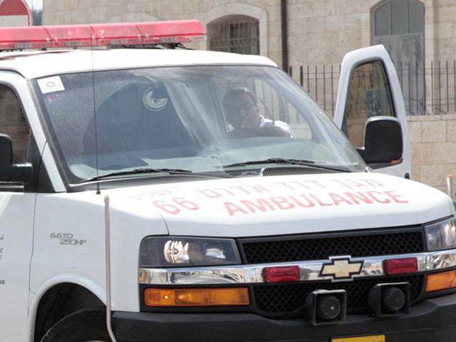 В результате ракетного обстрела Беэр-Шевы ранен мужчина