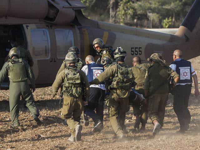 В больницах госпитализированы 130 раненных военнослужащих