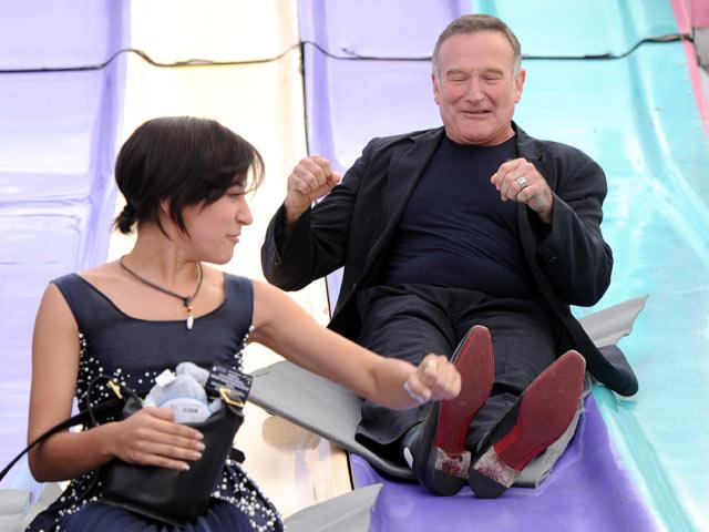 Зельда и Робин Уильямс. 2011 год