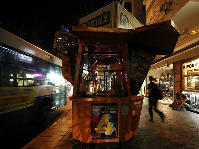 Из соображений безопасности отменены ночные автобусные маршруты на юге Израиля