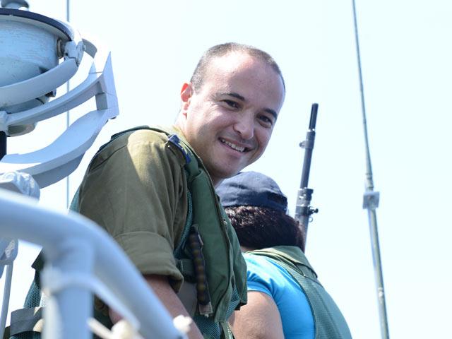 Капитан 2-го ранга Элад Маром