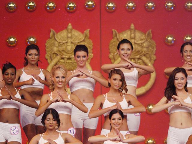 На конкурсе Miss Asia (архив)