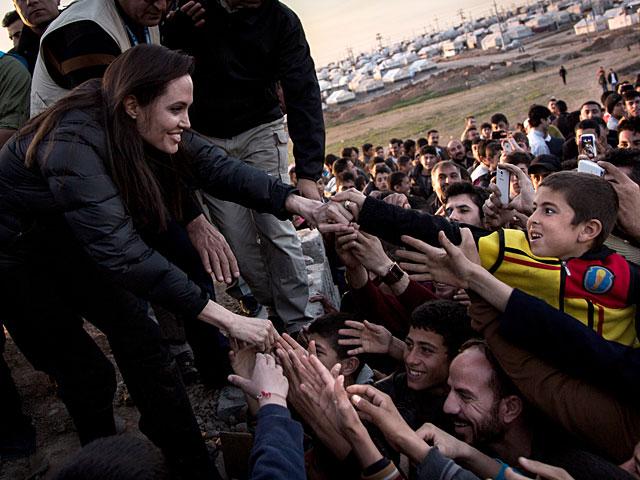 """Анджелина Джоли в Курдистане: """"Международное сообщество провалило экзамен"""""""