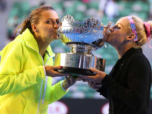 Бетани Маттек-Сэндз и Люси Шафаржова – победительницы Открытого чемпионата Австралии в парном разряде