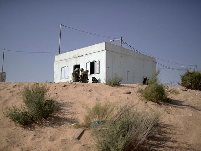 Поселок Шломит на границе с сектором Газы