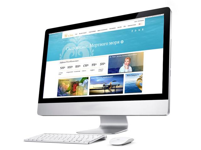 Обновленный сайт компании Dr. Nona