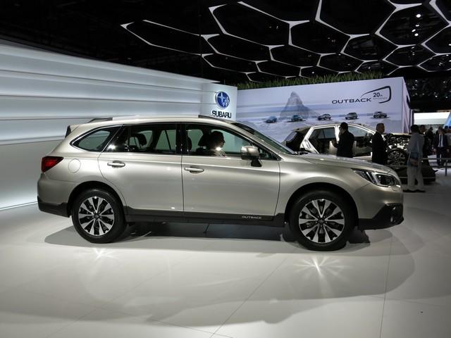 Subaru Outback 2015 модельного года