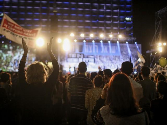 """""""Израиль хочет перемен"""": в Тель-Авиве прошла демонстрация с призывом к смене правительства"""