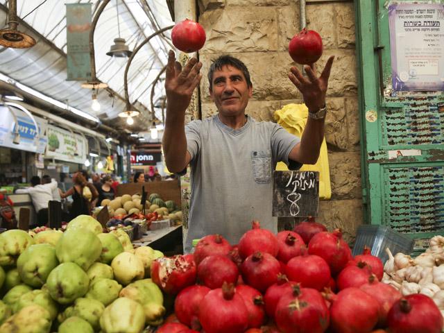 На рынке в Израиле