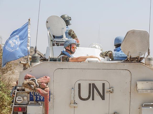 На территории Сирии ранены два миротворца UNDOF