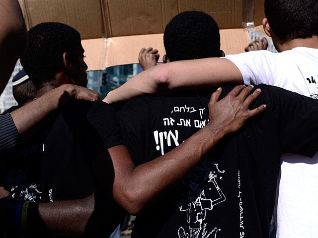 В Беэр-Шеве прошел марш солидарности с выходцами из Эфиопии