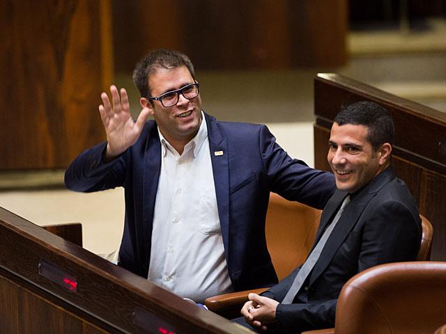 Орен Хазан удален из зала во время пленарного заседания Кнессета