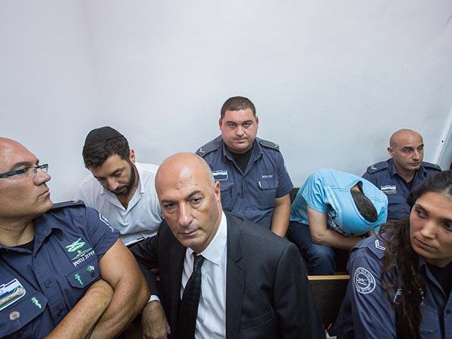 Гари Шалон и Зив Орнштейн в суде. 22 июля 2015 года