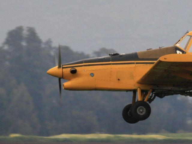 На берегу Кинерета разбился легкомоторный самолет, два человека пострадали