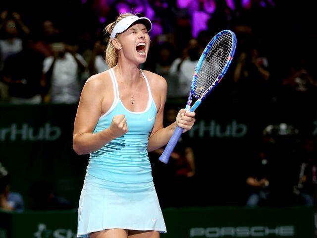 Мария Шарапова одержала вторую победу на итоговом турнире WTA