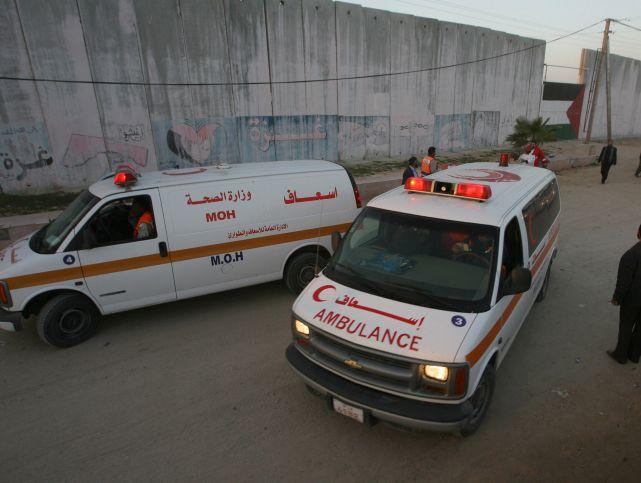 Очевидцы: палестинская машина скорой помощи не помогла раненым в теракте
