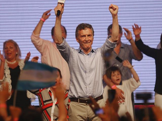 Маурицио Макри в Буэнос-Айресе. 22 ноября 2015 года