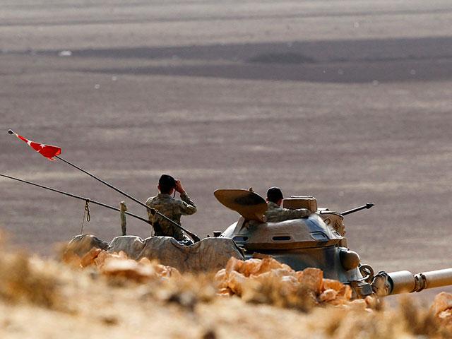 На сирийско-турецкой границе
