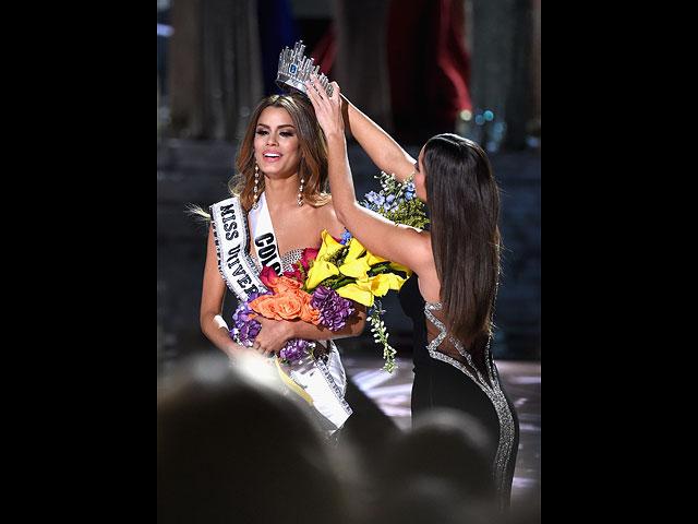 """Ариадна Гутиерес на финале """"Мисс Вселенная"""". 20 декабря 2015 года"""