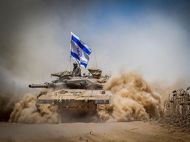 """NEWSru.co.il :: 7-я танковая бригада ЦАХАЛа пересаживается на танки  """"Меркава-4"""""""