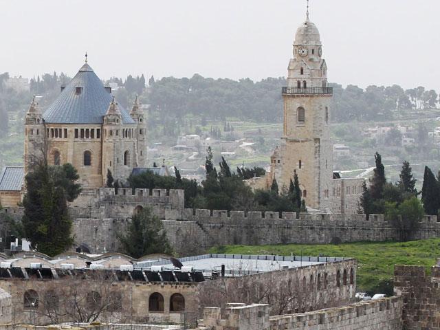 Храм Успения Пресвятой Богородицы на горе Сион. Иерусалим