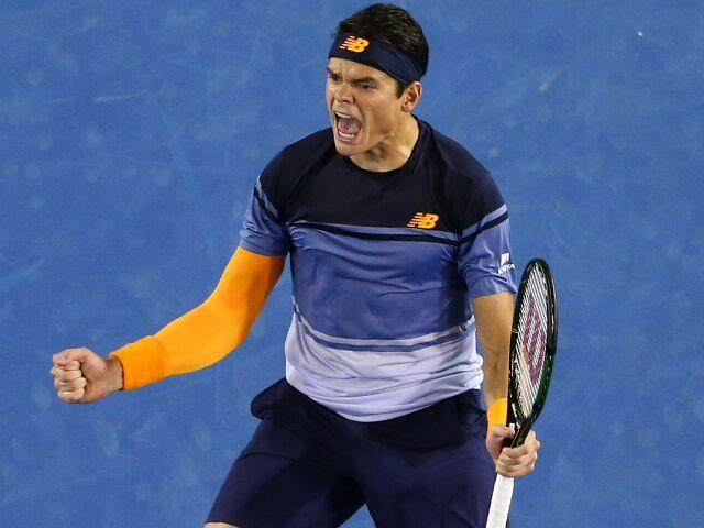 Милош Раонич вышел в полуфинал Открытого чемпионата Австралии