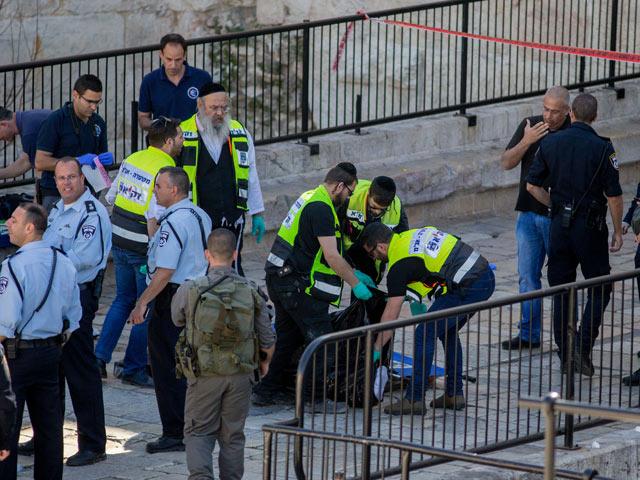 Около Шхемских ворот Иерусалима. 19 февраля 2016 года