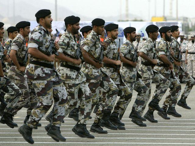 Саудовские военнослужащие
