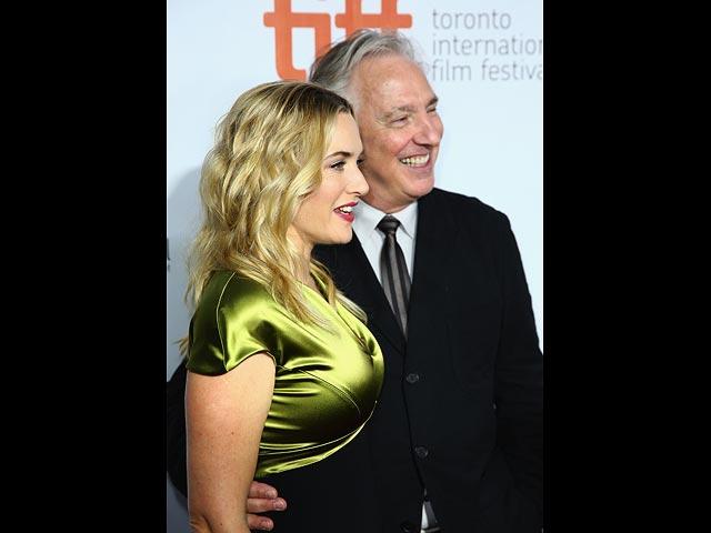 Кейт Уинслет и Алан Рикман в 2014-м