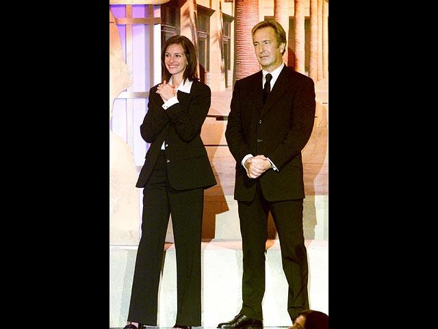 Джулия Робертс и Алан Рикман в 2000-м
