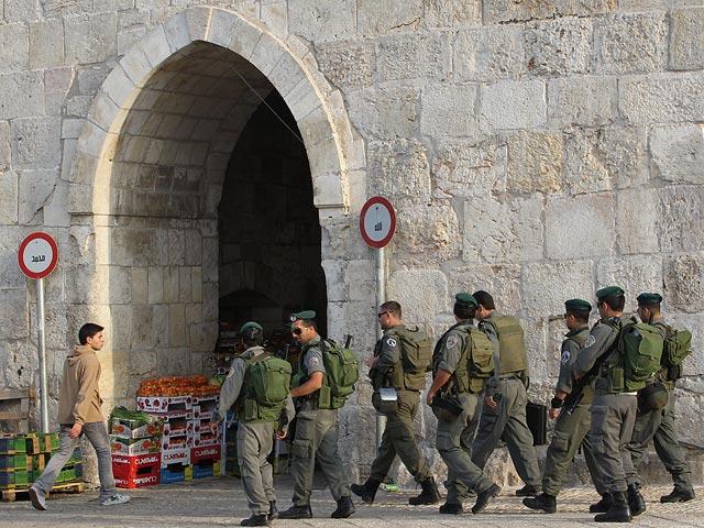 ВИерусалиме палестинец напал наполицейских