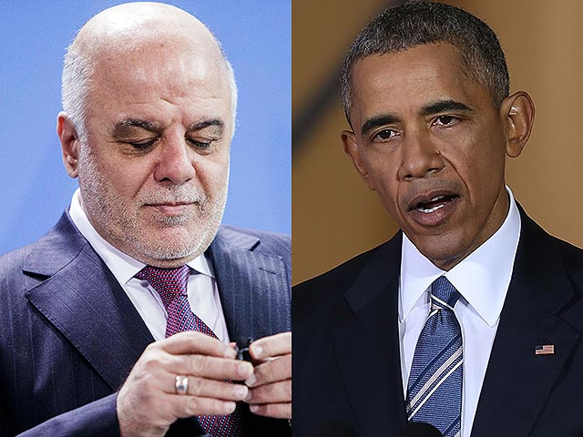 Хайдар аль-Абади и Барак Обама