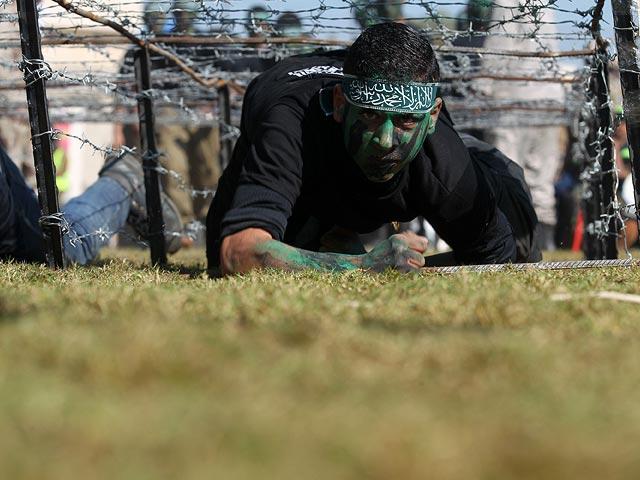 На границе Израиля завершились военные учения ХАМАСа