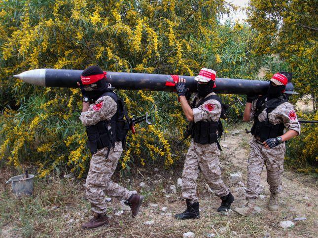 """Боевики """"Бригад национального сопротивления"""". Сектор Газы, 25.03.2016"""
