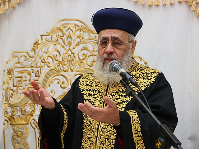 Главный сефардский раввин: гоям, не соблюдающим заповеди Ноя, запрещено жить в Израиле