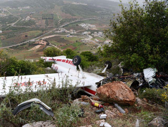 На месте авиакатастрофы в Галилее. 25 марта 2016 года