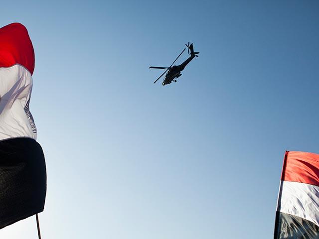 Вертолет Apache египетских ВВС