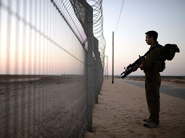 Пятый минометный обстрел военнослужащих из сектора Газы