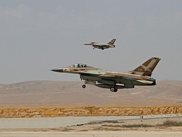 ВВС ЦАХАЛа нанесли удар по целям на юге сектора Газы