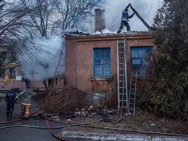 На Украине сгорел дом престарелых: погибли 17 человек