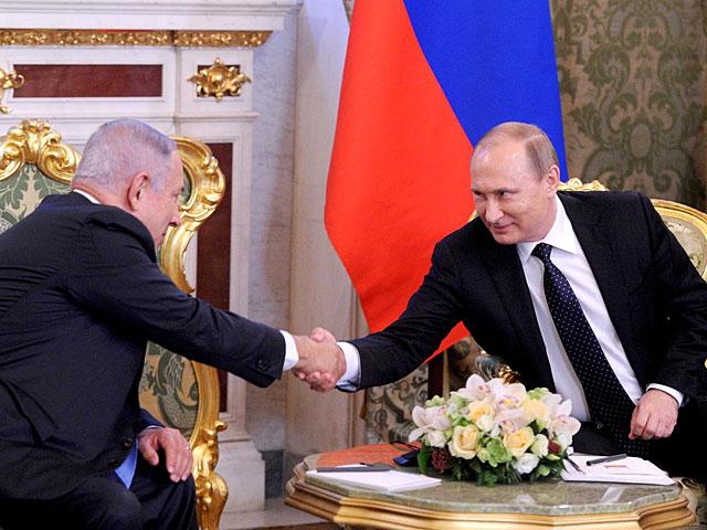 В Москве состоялись переговоры Владимира Путина и Биньямина Нетаниягу