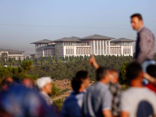 Президентский дворец в Анкаре. 16.07.2016