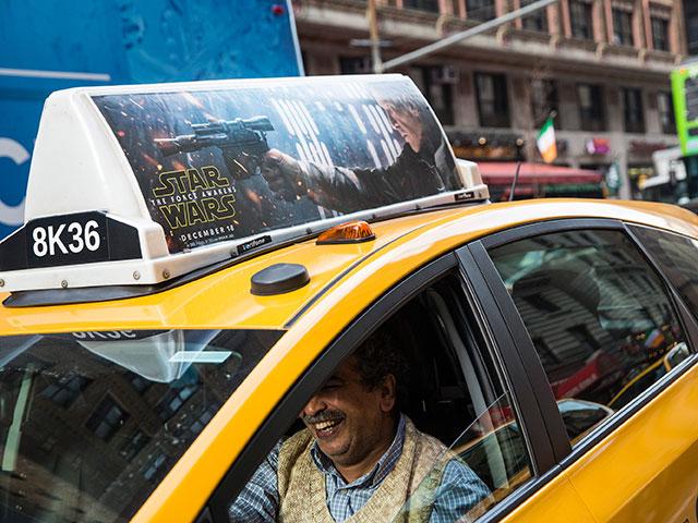 Как ловить такси нью йорк