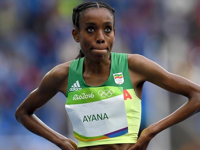 Бег на 10 тысяч метров: Алмаз Аяна установила мировой рекорд