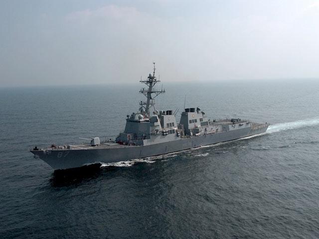 Информация отретьем обстреле американского эсминца могла быть ошибочной - Пентагон