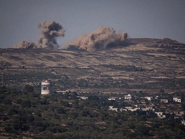 Израильские войска обстреляли сирийских военных вответ нашальной снаряд