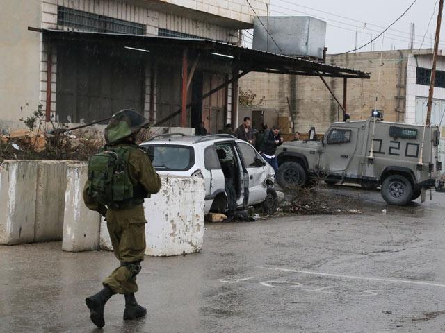 Предотвращен теракт против военных в Хевроне