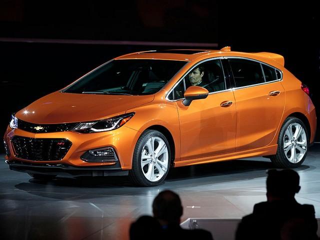 Хэтчбек Chevrolet Cruze нового поколения