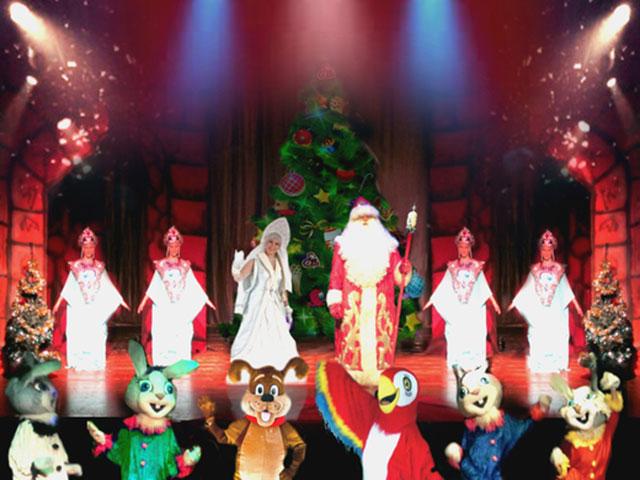 """В израильских городах уже начались показы новогоднего представления """"Елка в Кремле"""""""