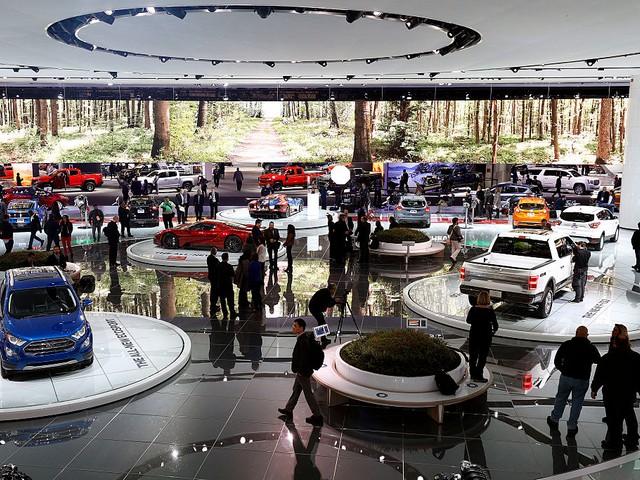 В Детройте стартовал ежегодный Североамериканский Международный автосалон